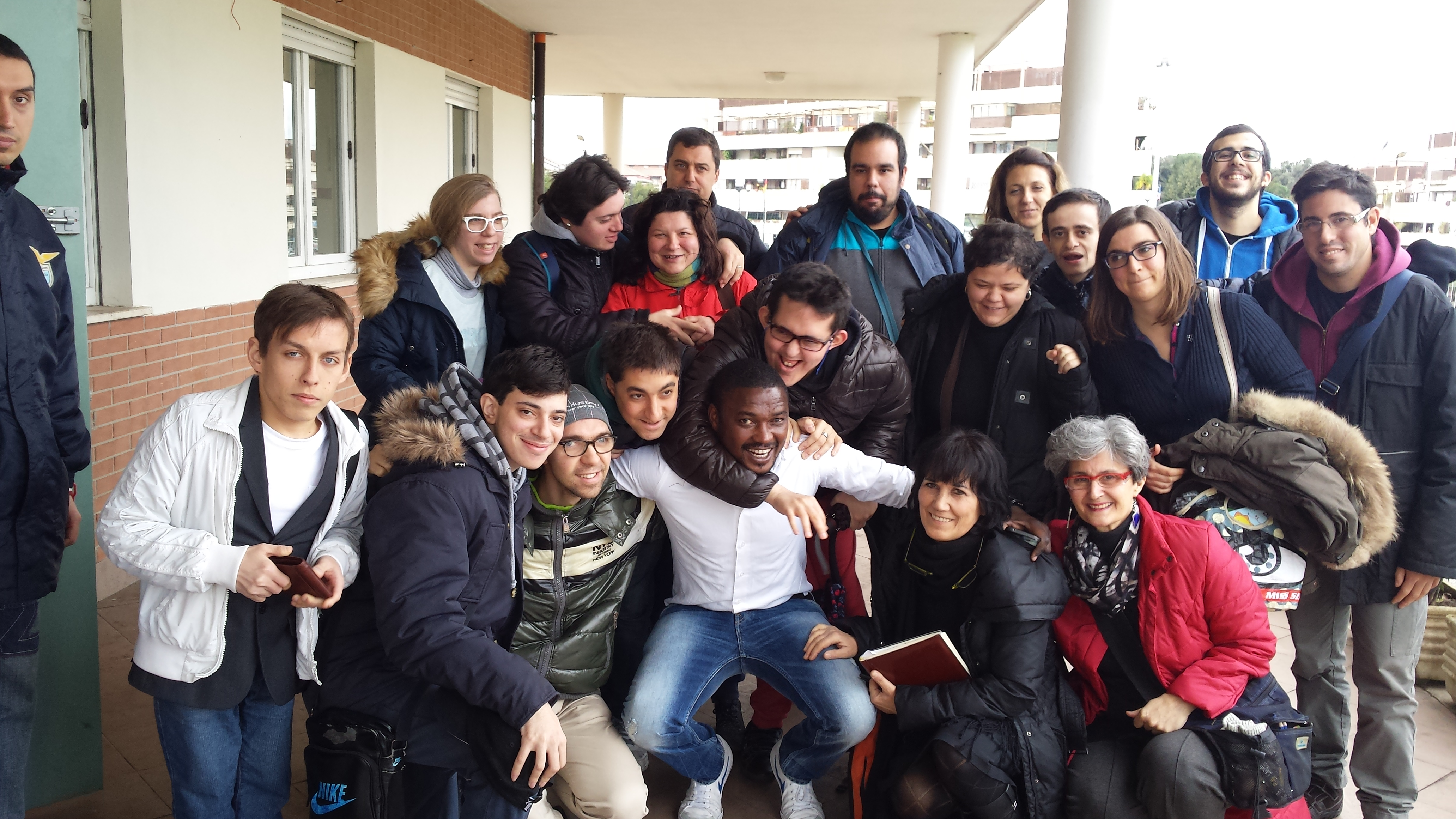 A scuola di integrazione: Programma integra incontra i ragazzi dell' Associazione Capodarco Roma