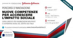 Formazione e Terzo settore: Percorsi d'innovazione. Nuove competenze per accrescere l'impatto. A Roma