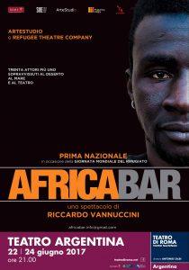 Giornata Mondiale del Rifugiato: debutta al Teatro Argentina di Roma 'Africabar'