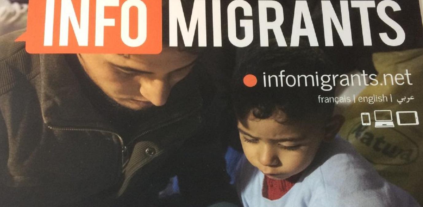 Infomigrants.net: un nuovo portale per informare i migranti in viaggio verso l'Europa