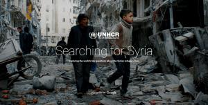 UNHCR e Google: nasce Searching for Syria, un sito per rispondere a 5 domande sulla crisi dei rifugiati siriani