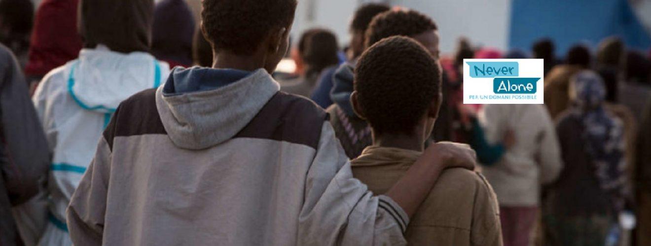 Inserimento lavorativo per minori stranieri non accompagnati: al via il progetto NEVER ALONE