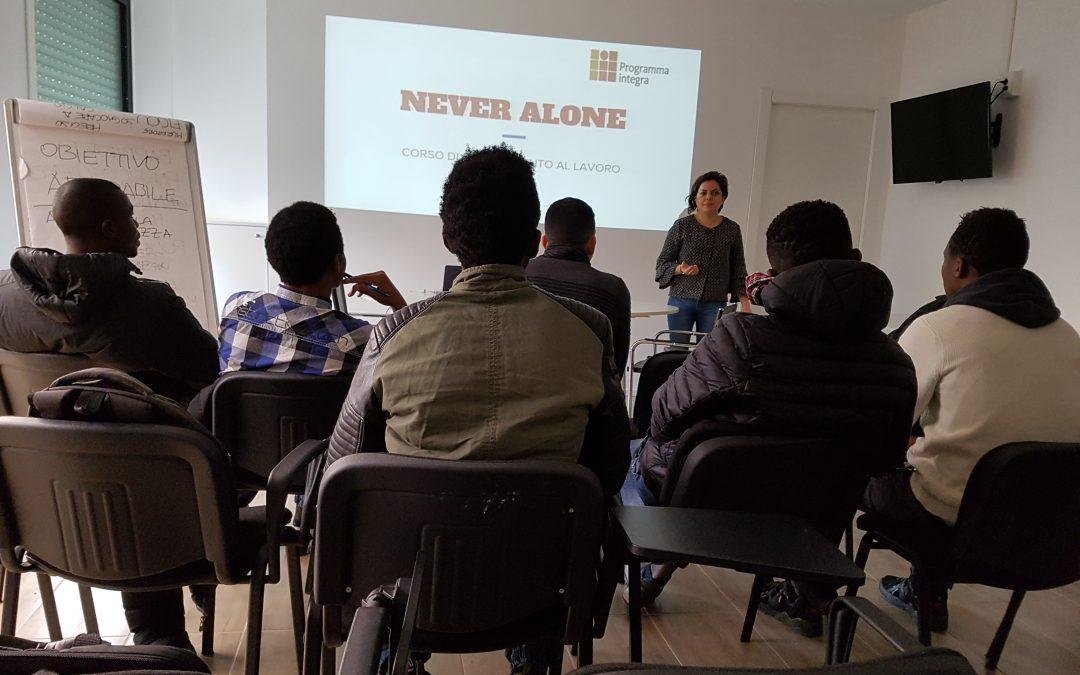 Una casa lontano da casa: 14 beneficiari del progetto Never Alone verso l'autonomia abitativa