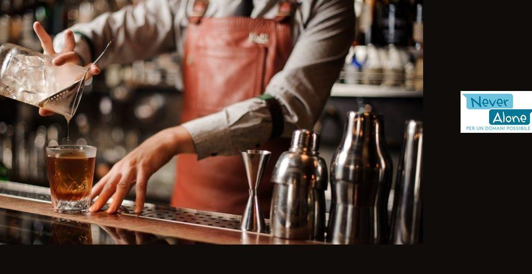 Lavorare al bar: arriva dal progetto Never alone la nuova proposta formativa rivolta a giovani migranti residenti a Roma